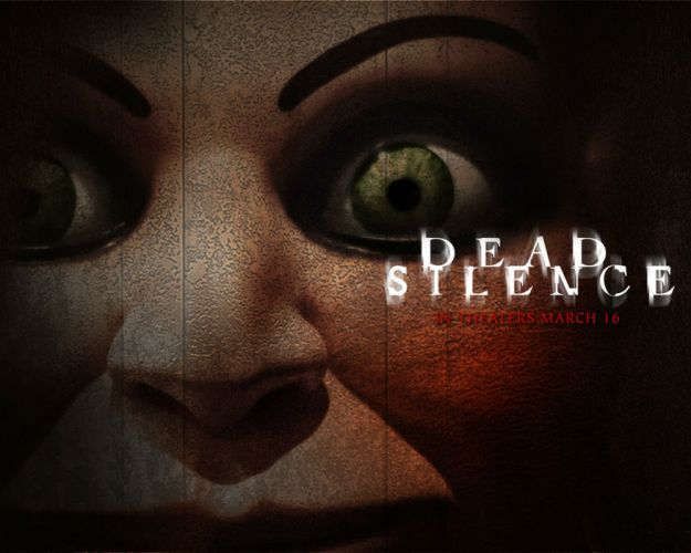 DEAD SILENCE horror mystery thriller dark ghost supernatural 1deadsilence demon puppet doll poster wallpaper