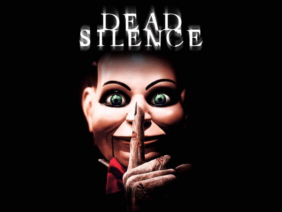DEAD SILENCE horror mystery thriller dark ghost supernatural 1deadsilence demon puppet doll monster poster wallpaper