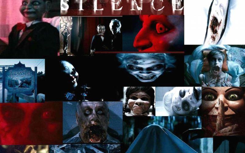 DEAD SILENCE horror mystery thriller dark ghost supernatural 1deadsilence demon puppet doll monster evil poster wallpaper