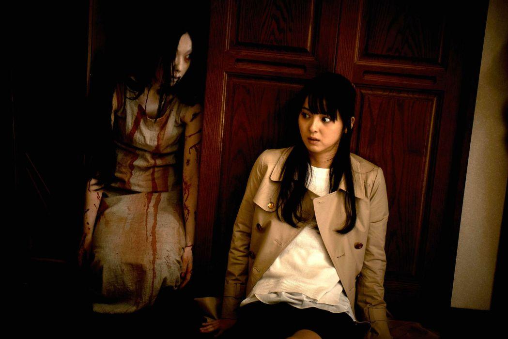 GRUDGE horror mystery thriller dark evil demon ghost ju-on wallpaper