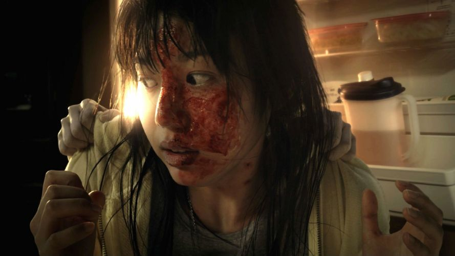 GRUDGE horror mystery thriller dark evil demon ghost ju-on blood wallpaper