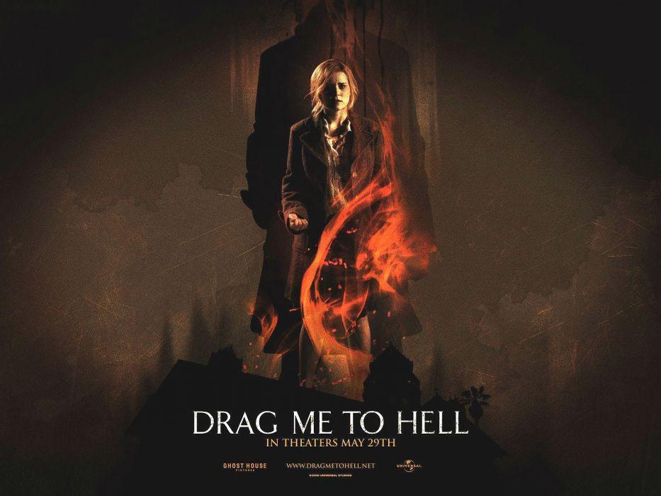 DRAG ME TO HELL horror dark supernatural evil 1dragmetohell poster wallpaper