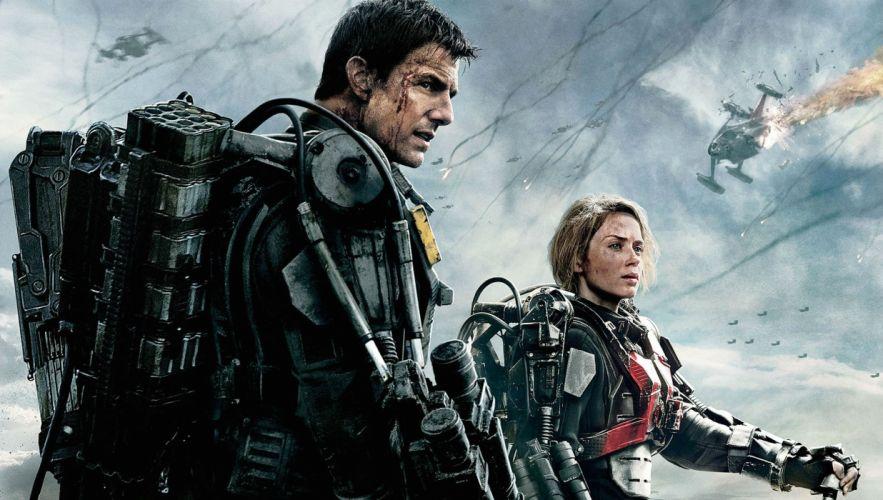 EDGE OF TOMORROW action sci-fi warrior military thriller wallpaper
