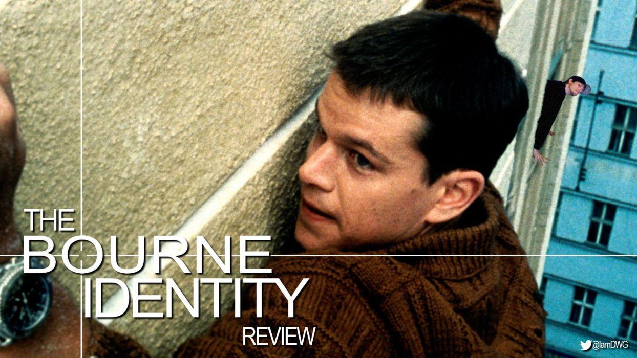 BOURNE IDENTITY action mystery thriller spy poster wallpaper