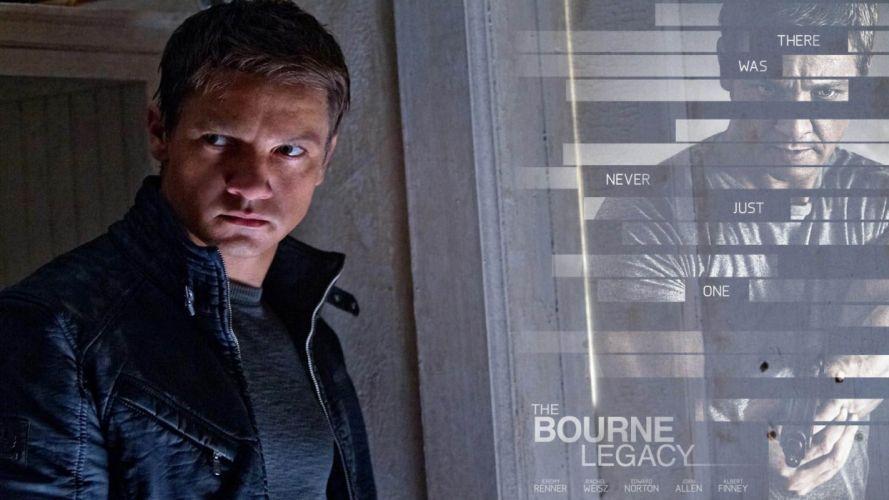 BOURNE LEGACY action mystery thriller spy hitman wallpaper