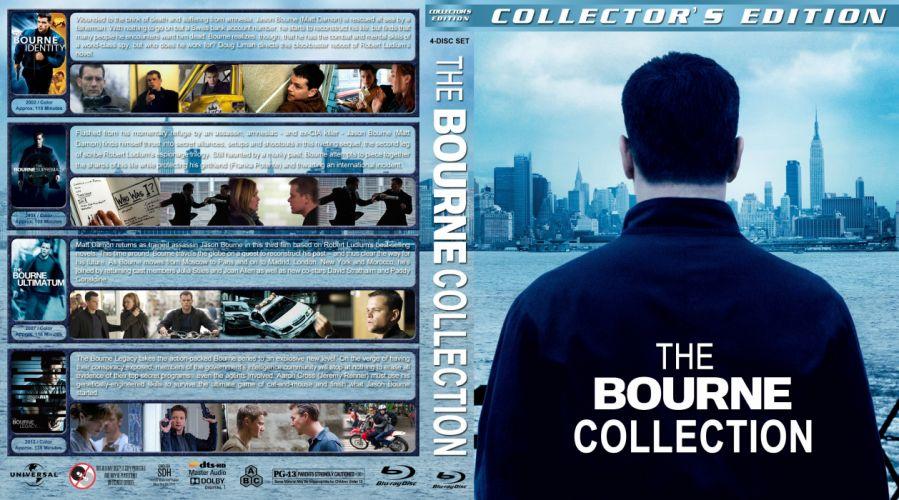 BOURNE LEGACY action mystery thriller spy hitman poster wallpaper