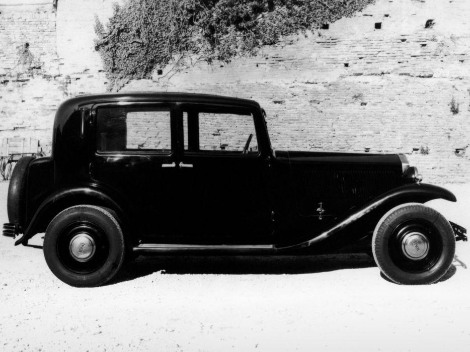 1933 Lancia Augusta retro wallpaper