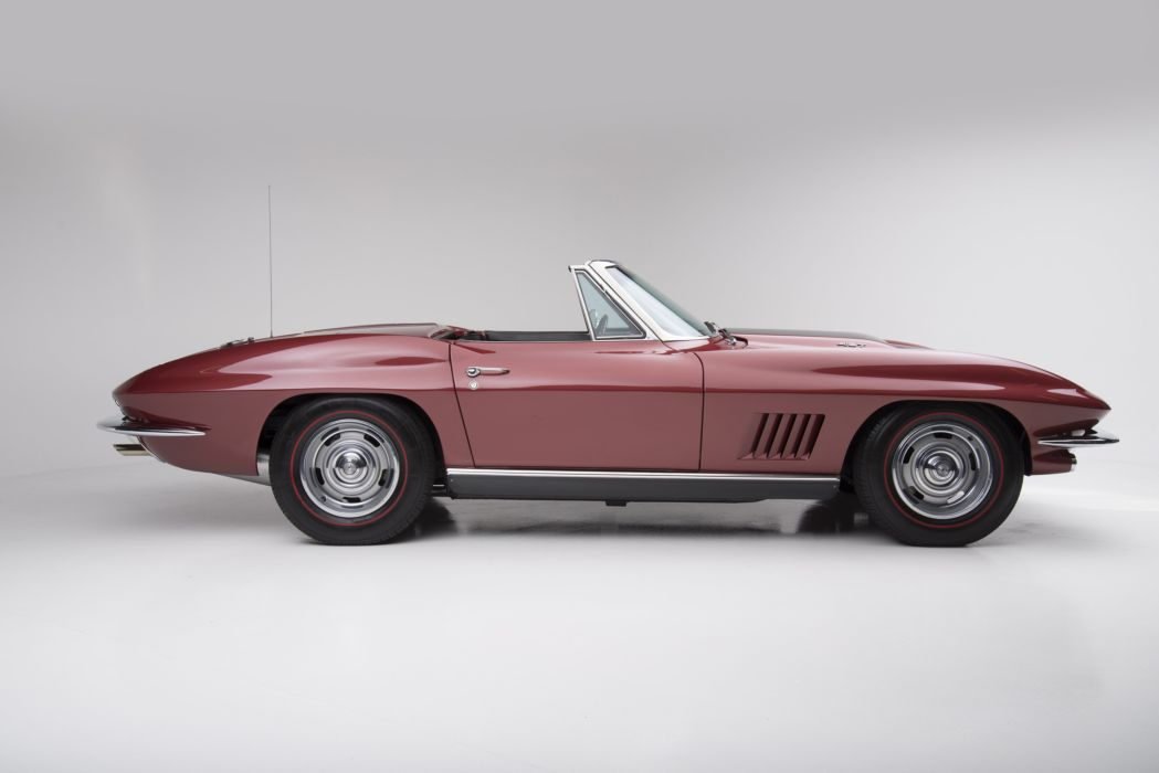 1967 Chevrolet Corvette StingRay L36 427 390HP Convertible (C-2) muscle supercar classic sting ray wallpaper