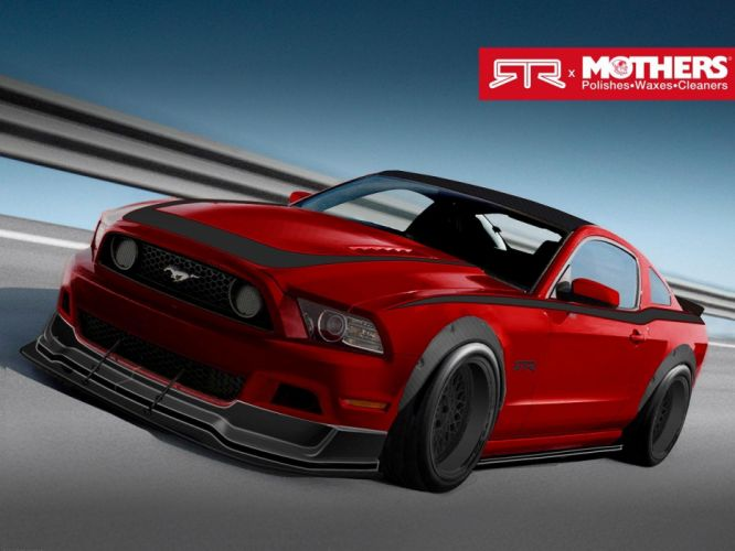 2013 Mothers Ford Mustang G-T RTR Spec-3 muscle tuning hot rod rods wallpaper