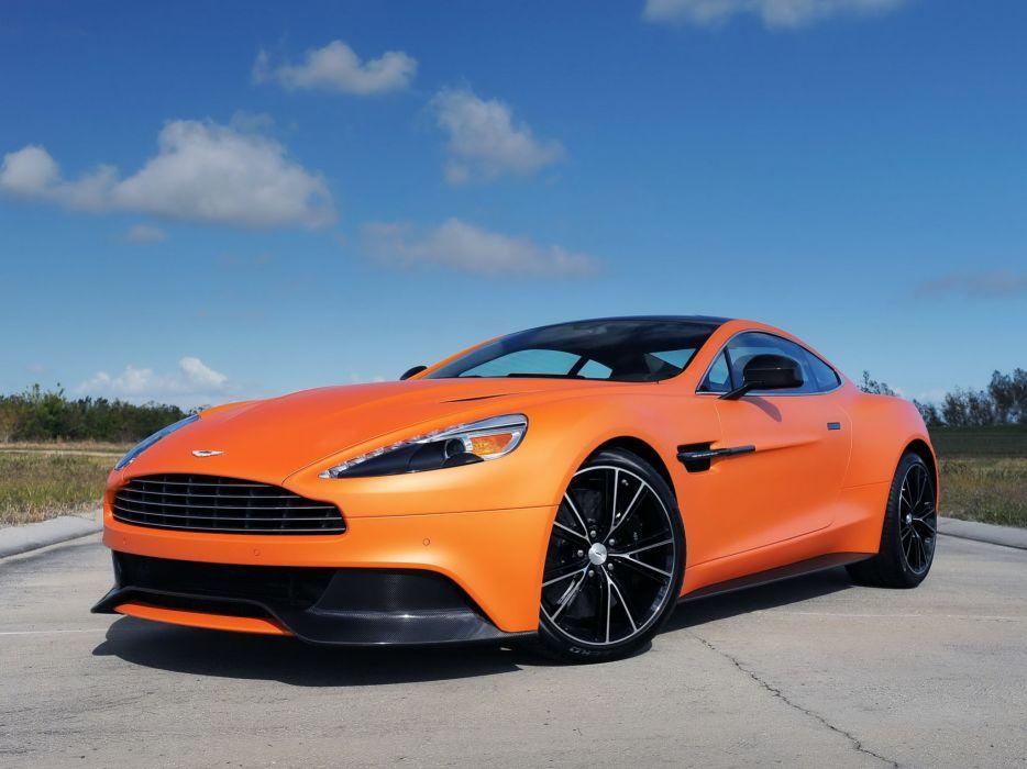 2012 Aston Martin Vanquish us-spec wallpaper