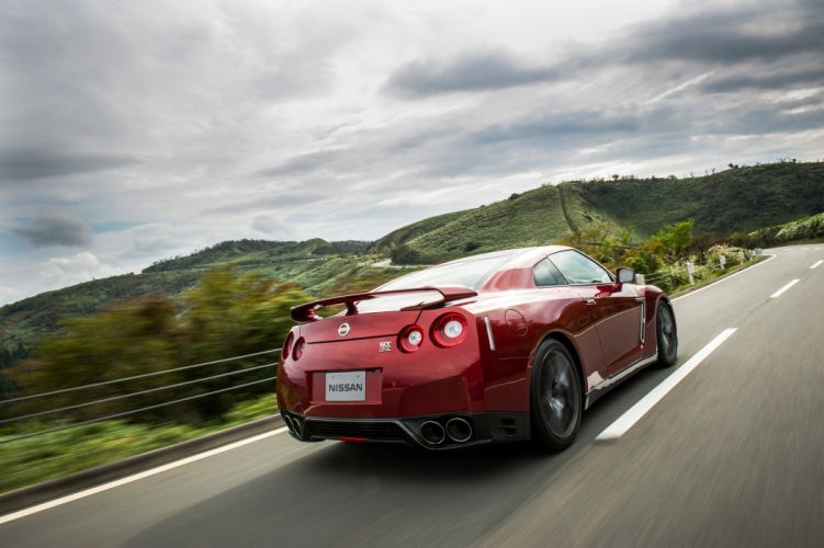 2015 Nissan GT-R JP-spec R35 gtr wallpaper