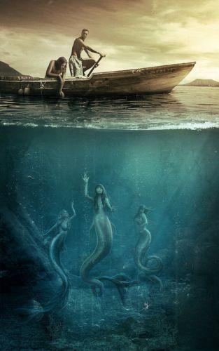 fantasy-portraits-vasylina-mermaid male sea wallpaper