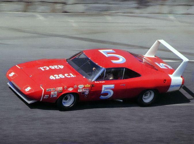 1969 Dodge Charger Daytona NASCAR Race racing muscle classic wallpaper