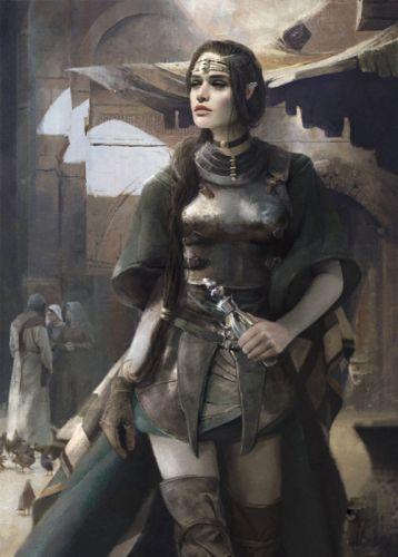 fantasy warrior girl sword wallpaper