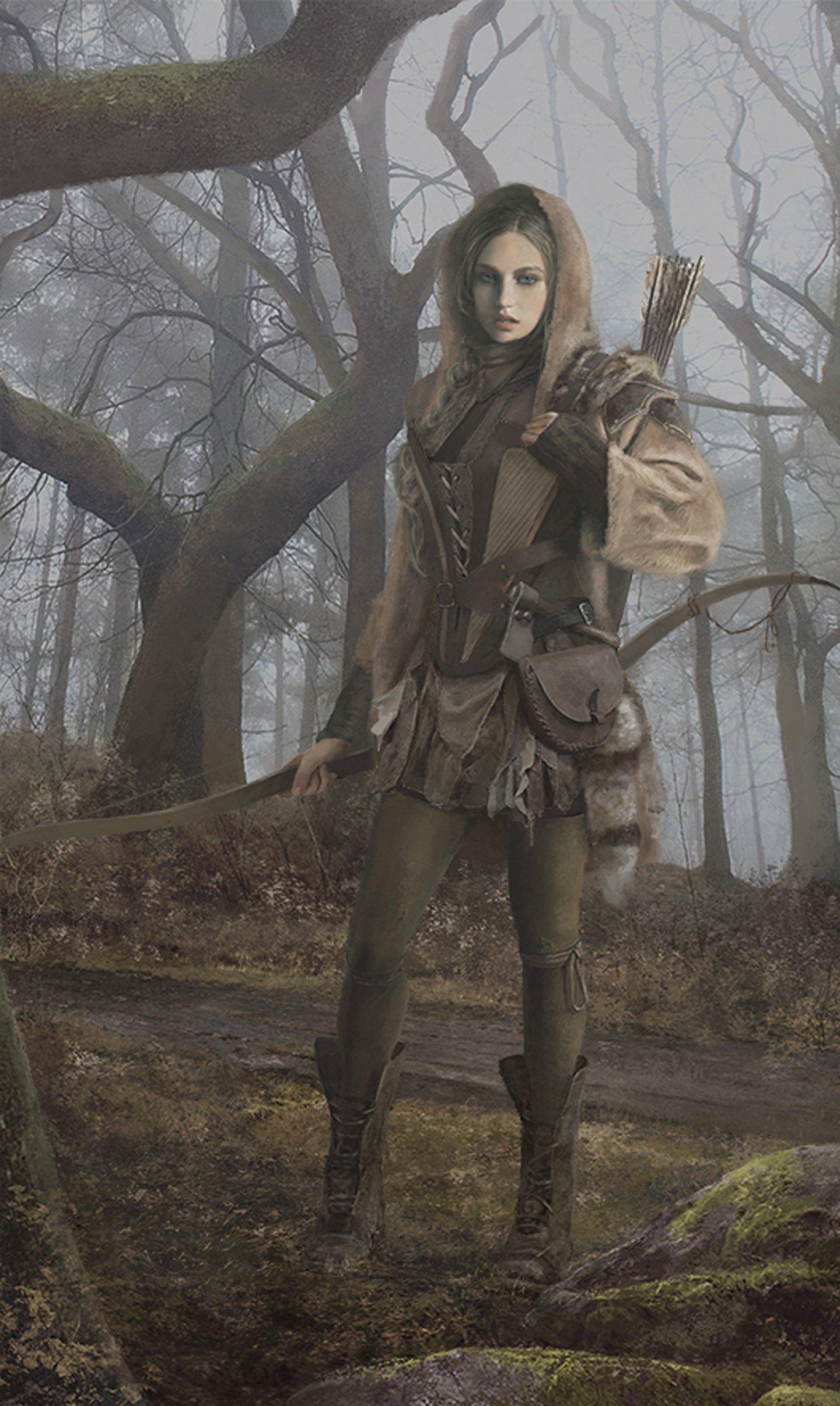 fantasy wallpaper girl
