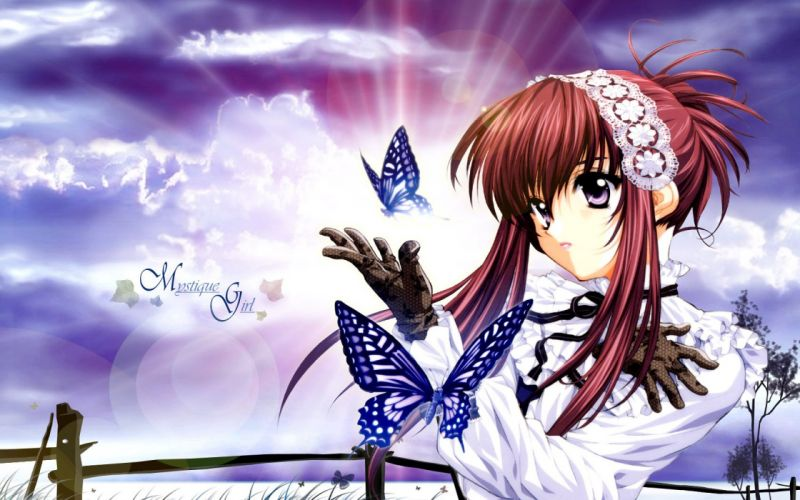 anime girl beauty sweet cute lovely beautiful wallpaper
