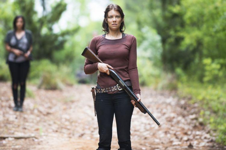 WALKING DEAD horror series dark zombie apocalyptic thriller drama wallpaper