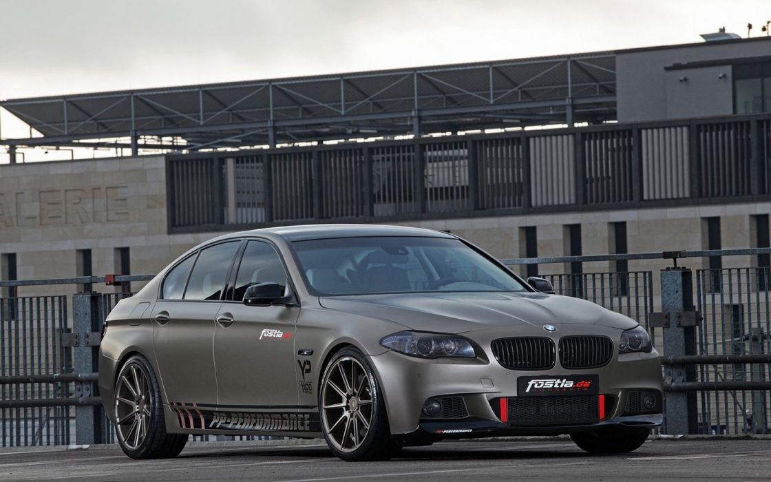 2014 fostla BMW 550i tuning cars wallpaper