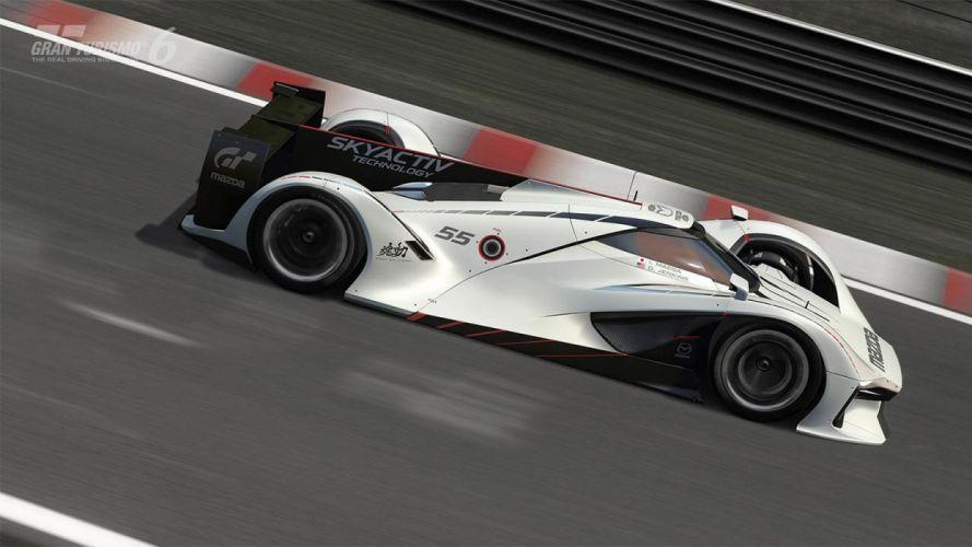 Mazda LM55 Vision Gran Turismo Concept supercars cars videogames wallpaper