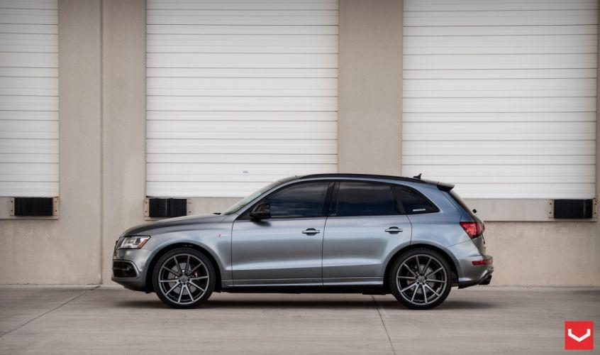 Audi SQ5 vossen wheels tuning suv cars wallpaper