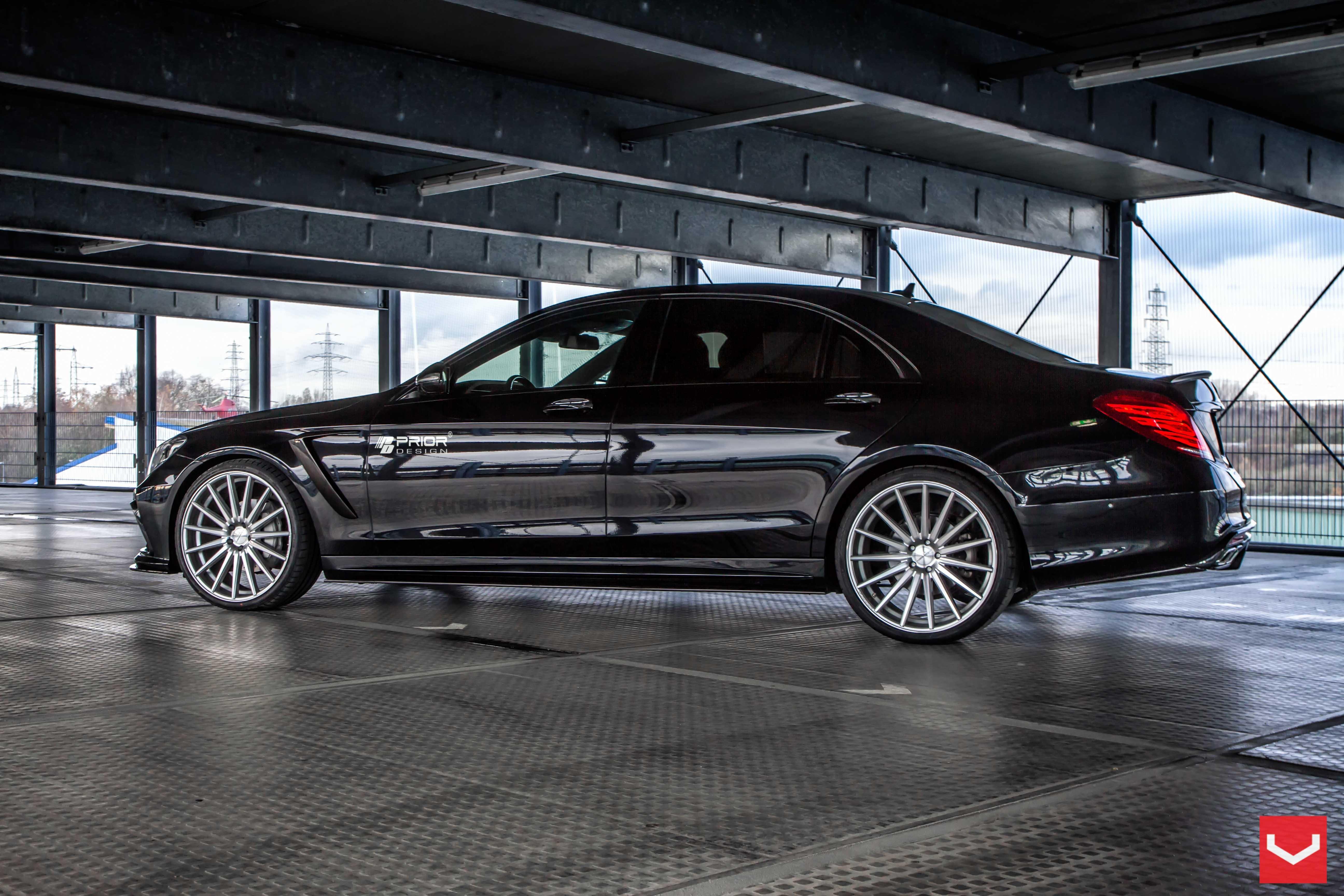 Mercedes benz s class vossen wheels tuning cars wallpaper for Mercedes benz s class rims