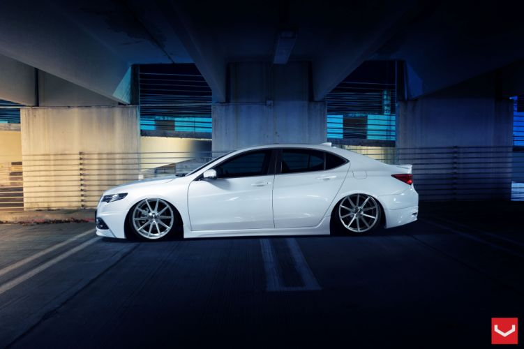 Acura TLX vossen wheels tuning cars wallpaper