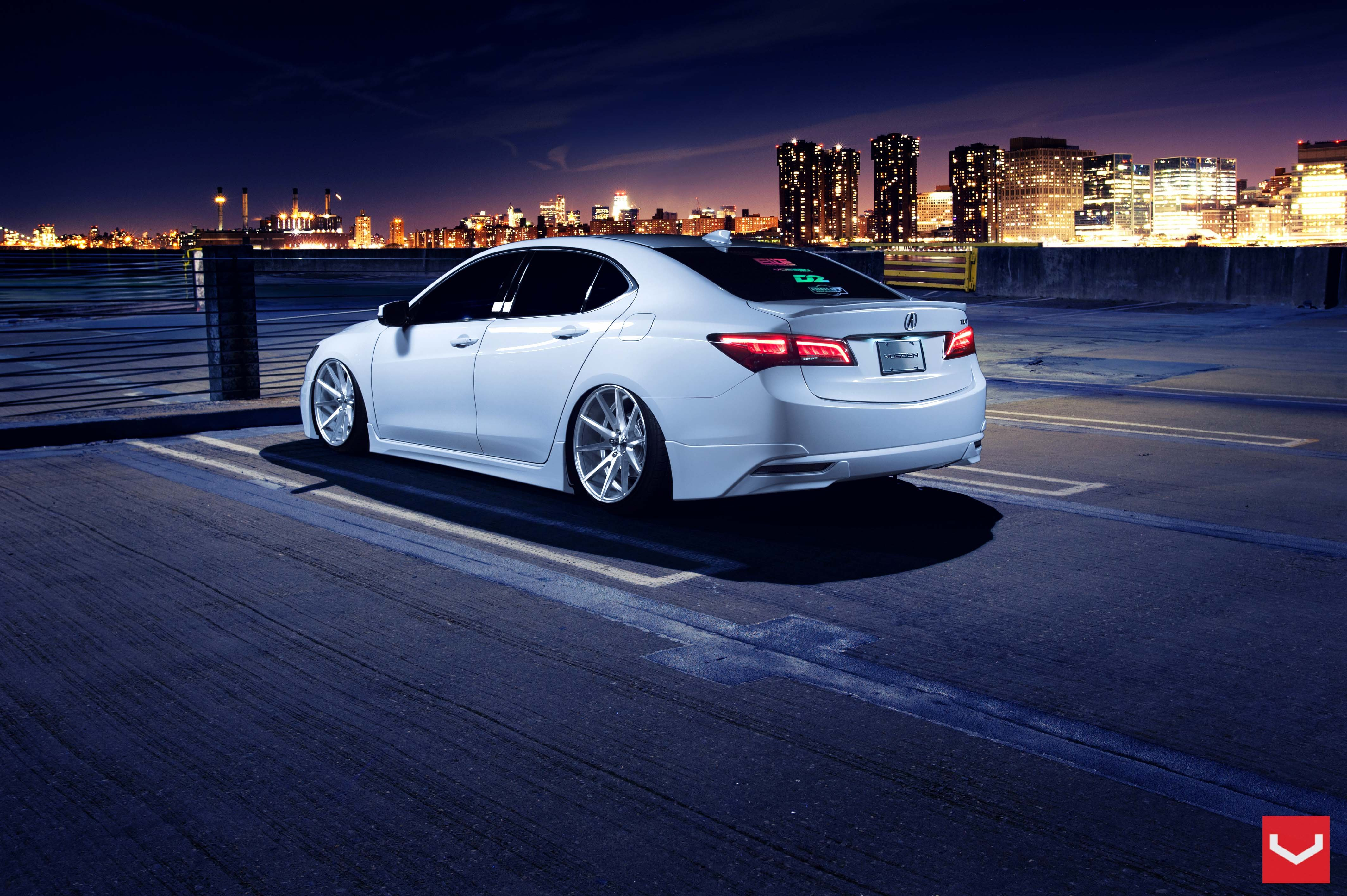 Acura TLX vossen wheels tuning cars wallpaper | 4256x2832 | 572381 | WallpaperUP