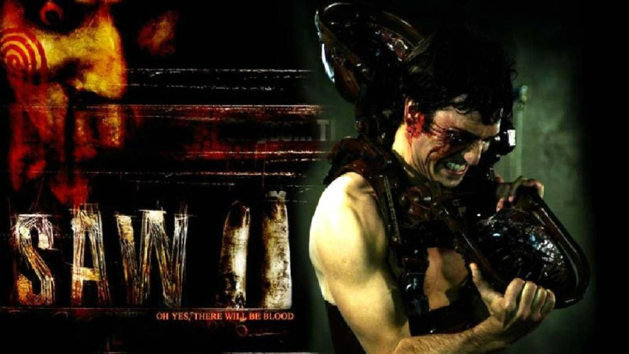 SAW horror dark thriller evil 1saw blood wallpaper