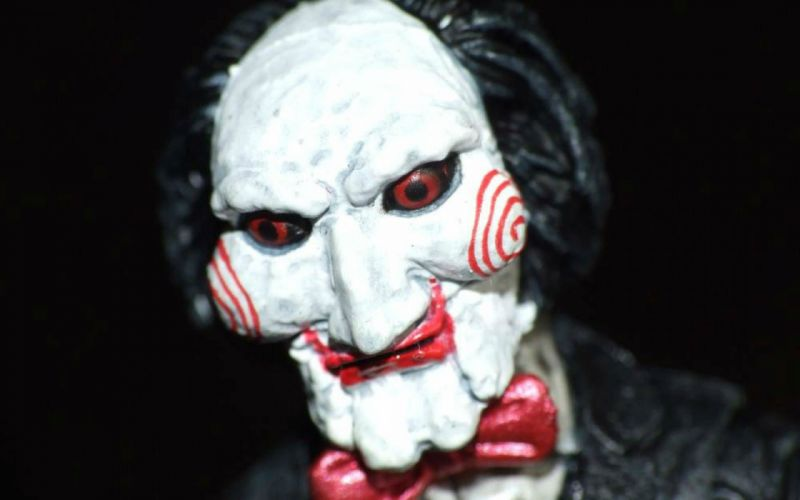 SAW horror dark thriller evil 1saw mask clown wallpaper