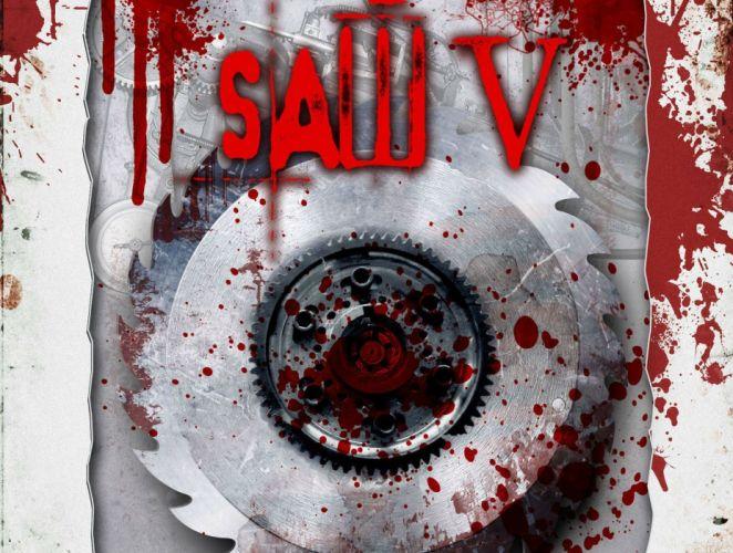 SAW horror dark thriller evil 1saw poster blood wallpaper