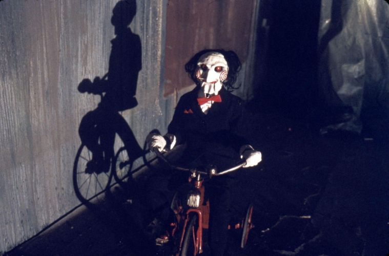 SAW horror dark thriller evil 1saw clown mask wallpaper