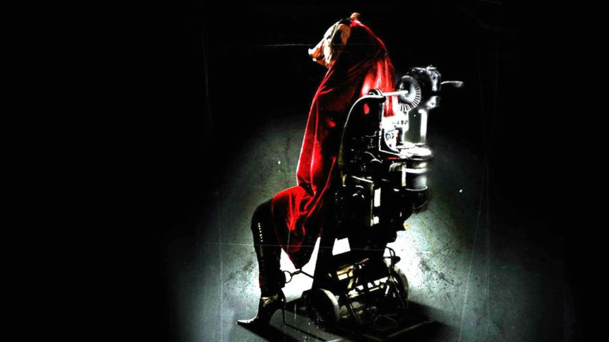 SAW horror dark thriller evil 1saw sci-fi psychedelic pig wallpaper
