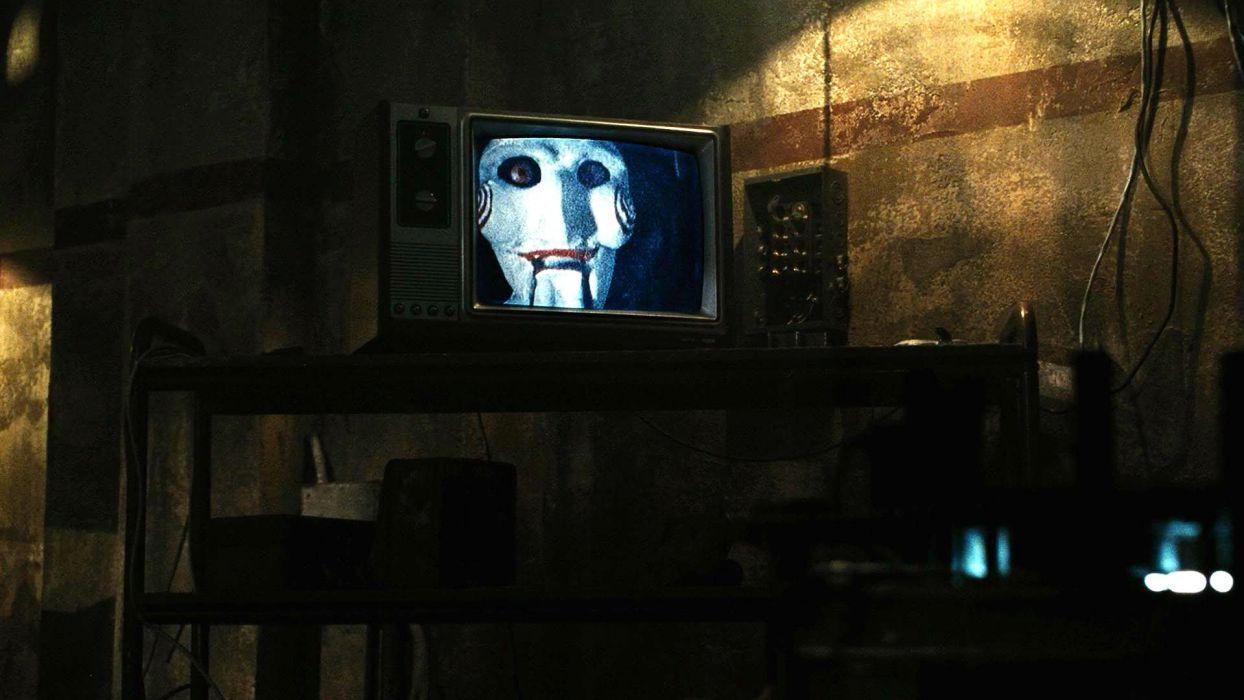 SAW horror dark thriller evil 1saw mask clown anarchy wallpaper