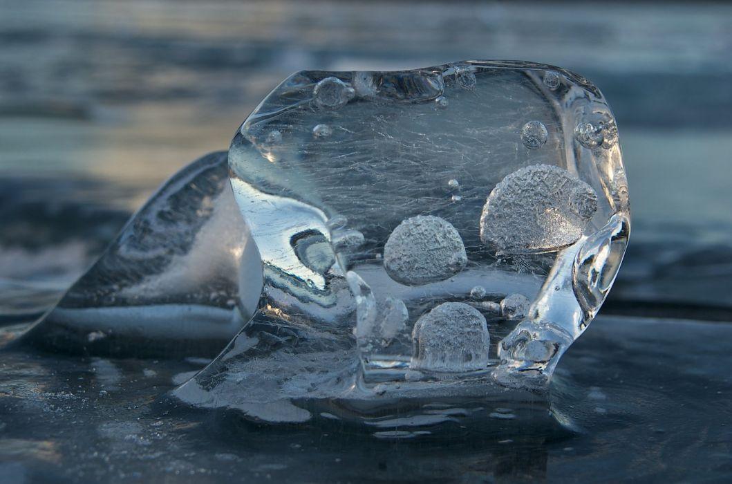 nature ice winter macro textures reflexions Sculptures water art frozen wallpaper