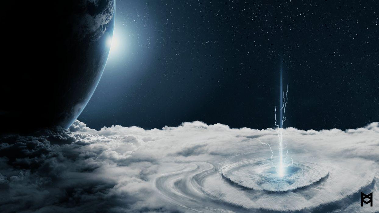 PROMETHEUS adventure mystery sci-fi futuristic planet space wallpaper