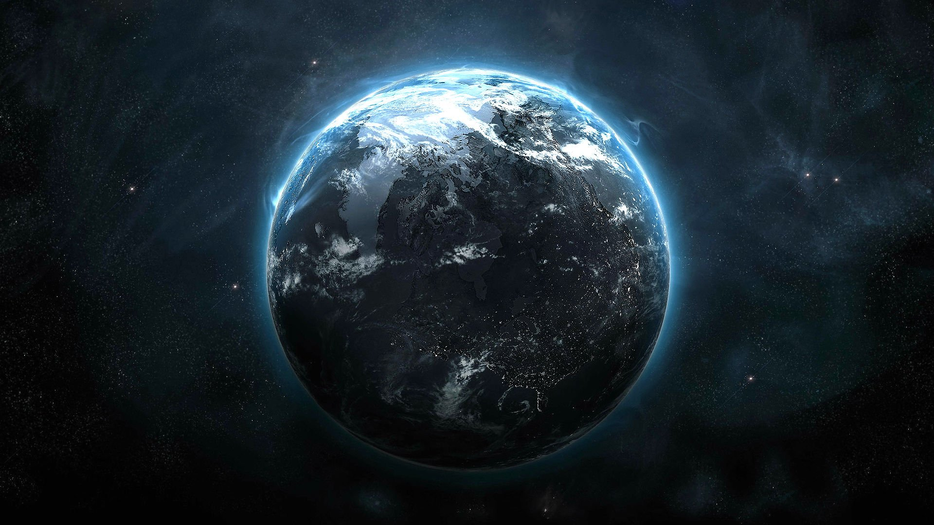 Planet Earth From Space Wallpaper: PROMETHEUS Adventure Mystery Sci-fi Futuristic Planet