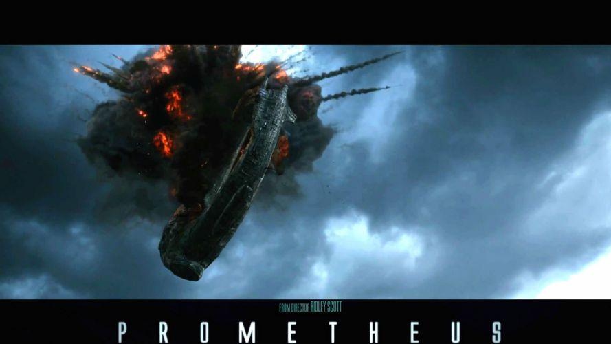 PROMETHEUS adventure mystery sci-fi futuristic spaceship poster wallpaper