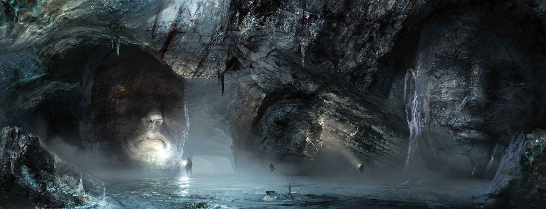 PROMETHEUS adventure mystery sci-fi futuristic wallpaper