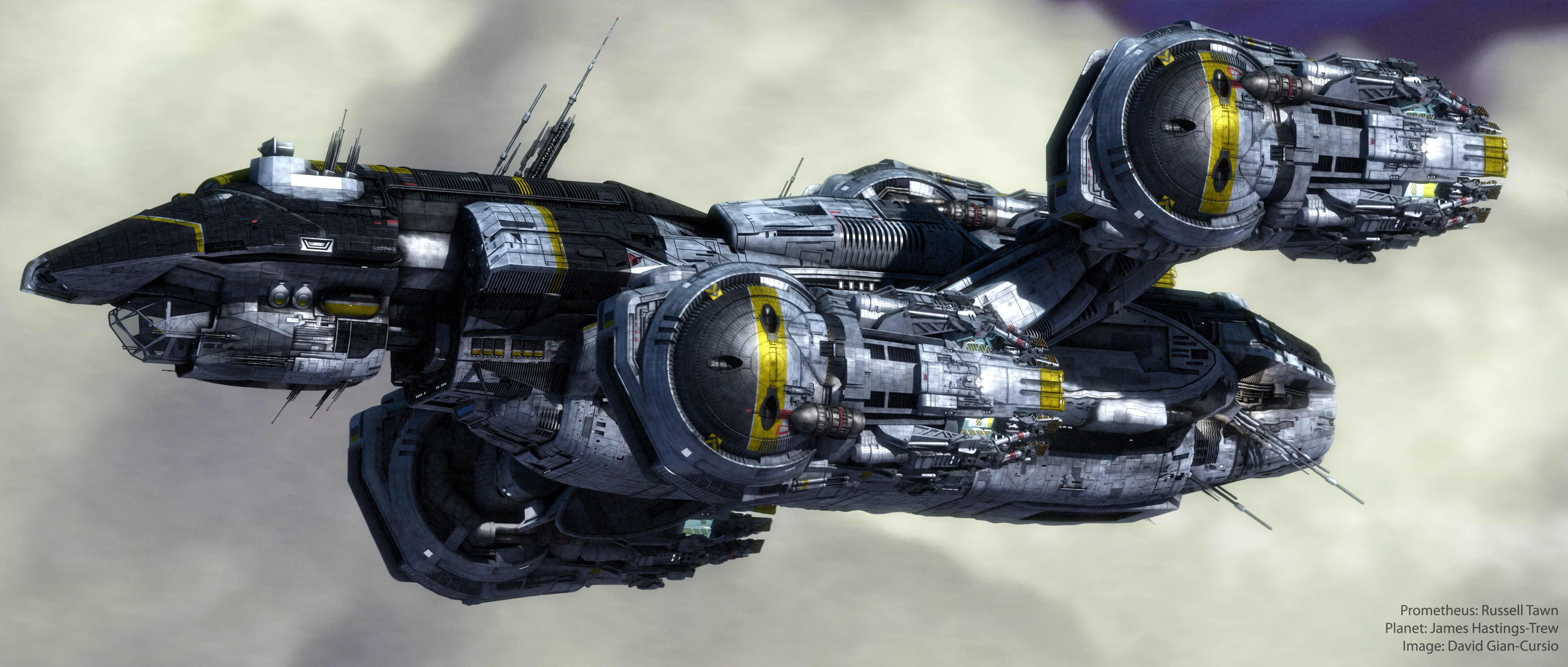 PROMETHEUS adventure mystery sci-fi futuristic spaceship ...