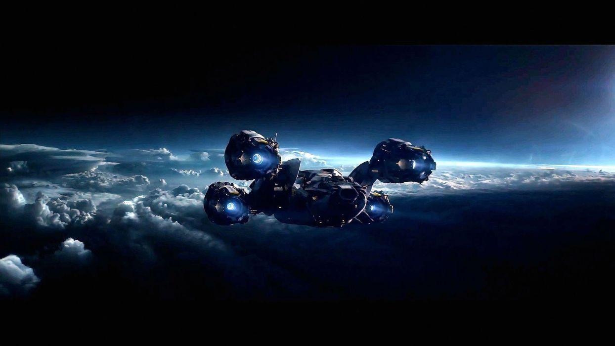 PROMETHEUS adventure mystery sci-fi futuristic spaceship wallpaper