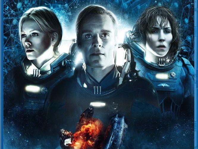 PROMETHEUS adventure mystery sci-fi futuristic astronaut wallpaper