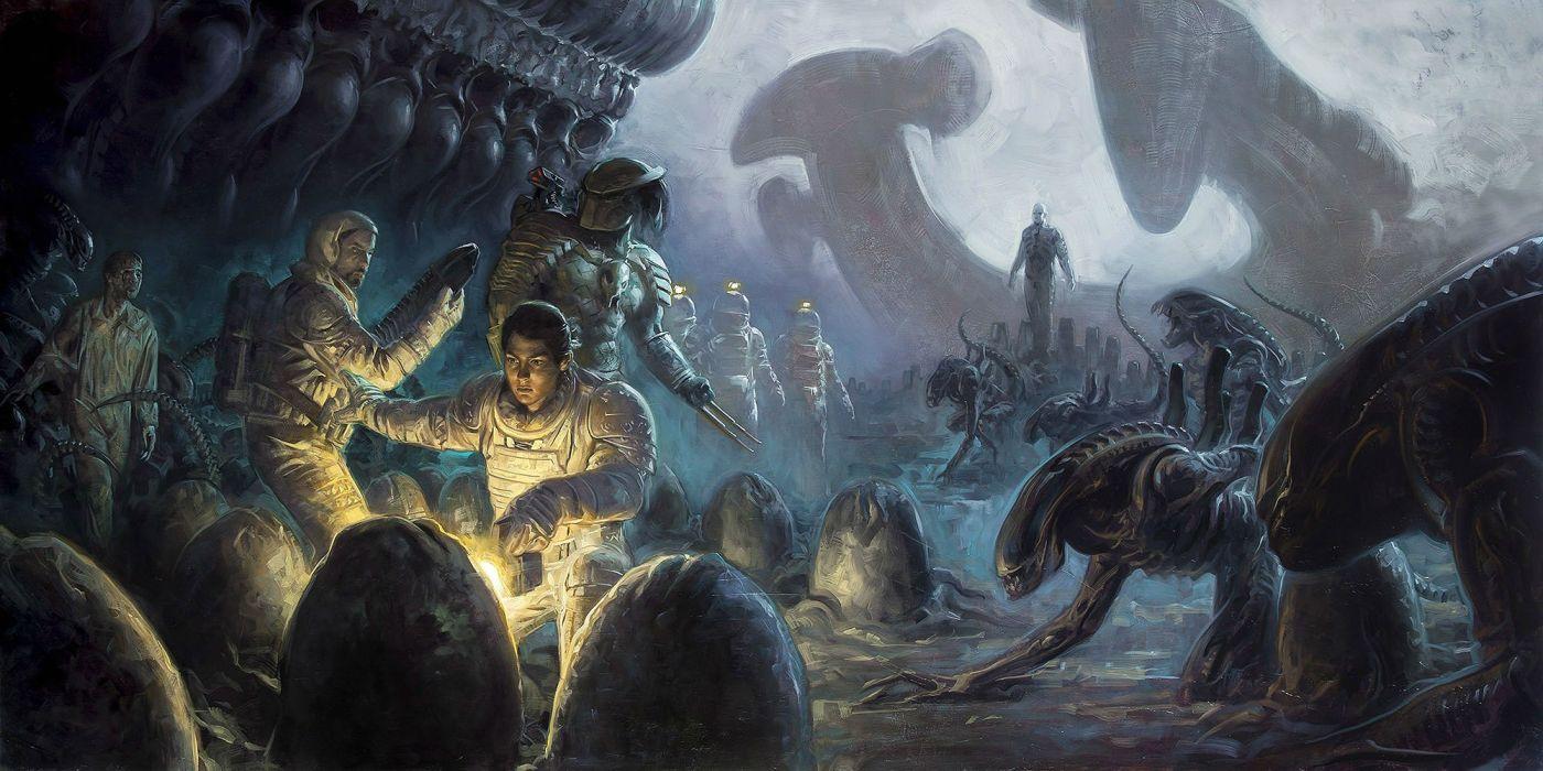 PROMETHEUS adventure mystery sci-fi futuristic alien wallpaper