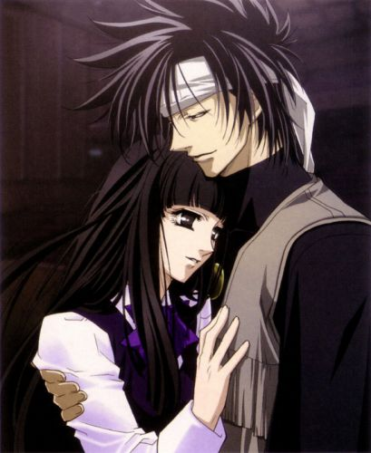 GetBackers couple girl boy love anime series wallpaper