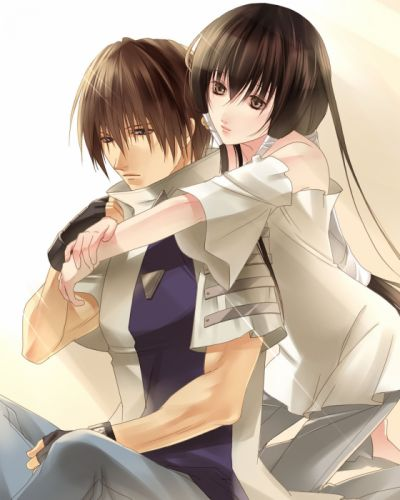 GetBackers couple girl boy love anime series wallpaper