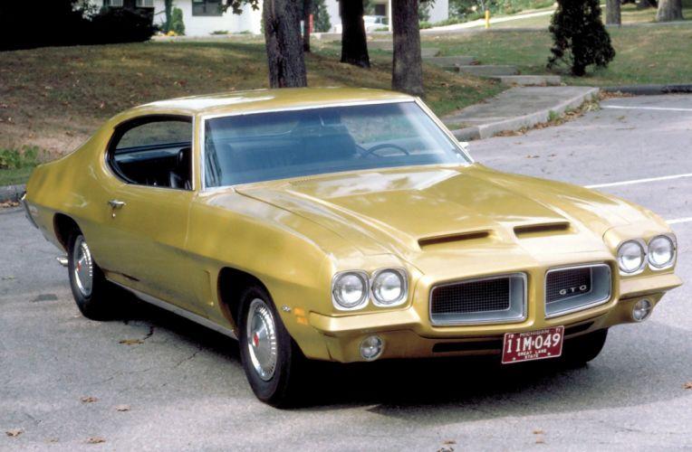 1972 Pontiac LeMans GTO Hardtop Coupe D37 muscle classic wallpaper