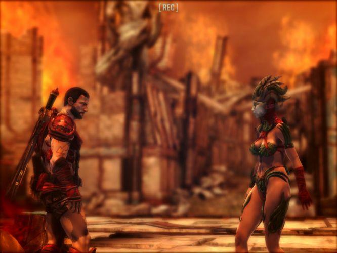 GODFIRE RISE PROMETHEUS action adventure fantasy fighting warrior 1godfire wallpaper