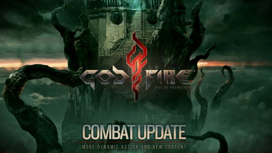 GODFIRE RISE PROMETHEUS action adventure fantasy fighting warrior 1godfire poster wallpaper