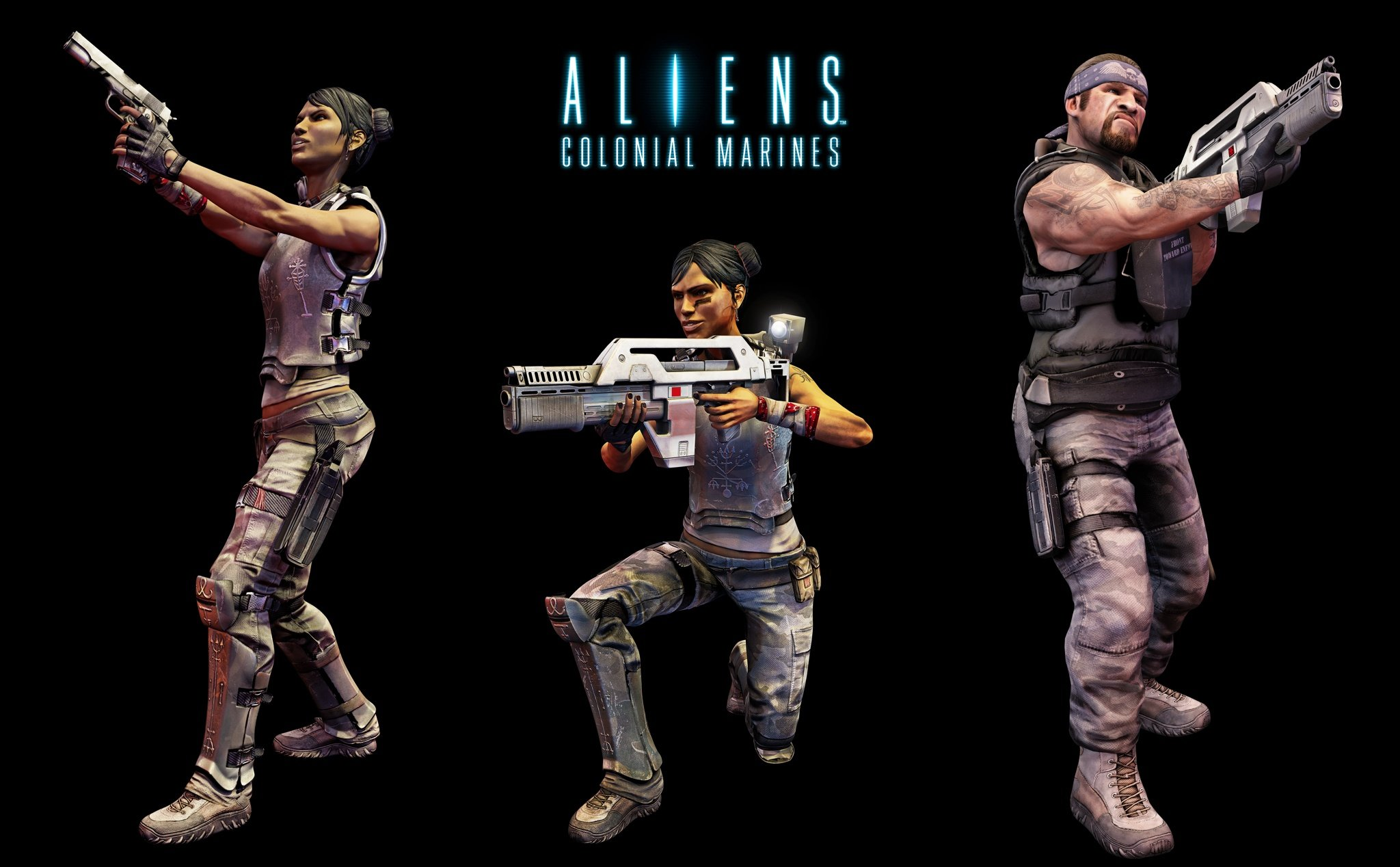 ALIENS COLONIAL MARINES sci-fi action shooter fighting alien futuristic  poster wallpaper | 2048x1268 | 573868 | WallpaperUP