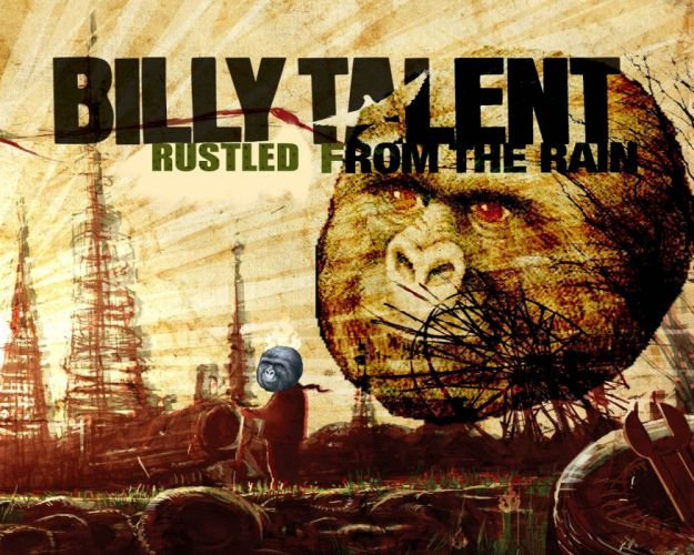 BILLY TALENT punk rock hardcore alternative 1billytalent canadian poster psychedelic fantasy monkey wallpaper