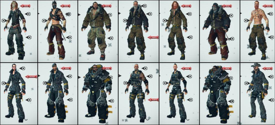 BRINK action shooter fighting warrior combat sci-fi weapon gun 1brink poster wallpaper
